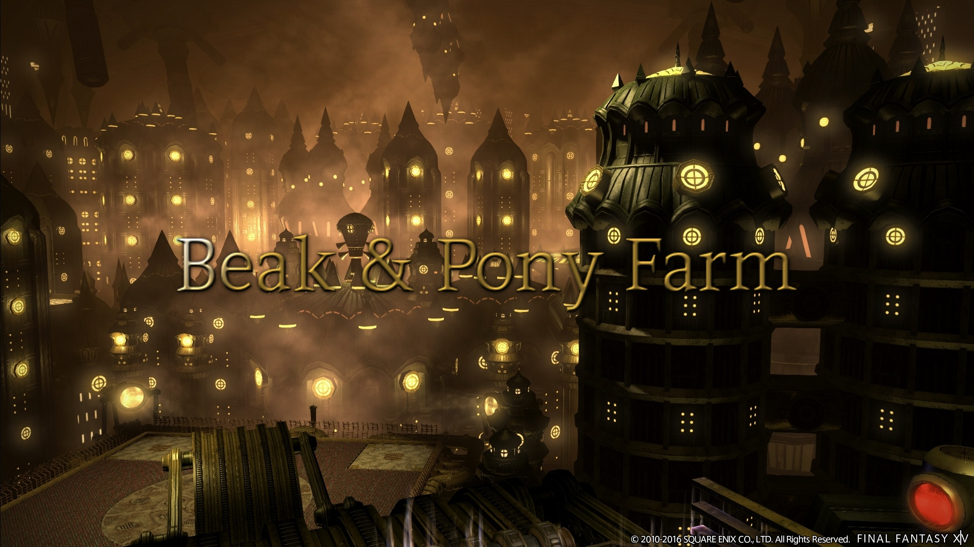 Beak & Pony Farm - Eorzean Dork Knights